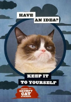 Grumpy Cat Flexi Journal With Stickers (Notebook / blank book)