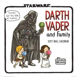 Darth Vader and Family 2017 Calendar (Calendar)