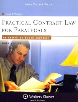 Practical Contract Law for Paralegals: An Activities-based Approach (Paperback)