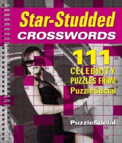 Star-Studded Crosswords: 111 Celebrity Puzzles from PuzzleSocial (Paperback)