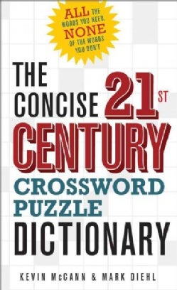 The Concise 21st Century Crossword Puzzle Dictionary (Paperback)