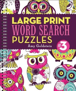 Large Print Word Search Puzzles 3 (Paperback)