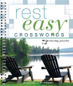 Rest Easy Crosswords: 72 Relaxing Puzzles (Paperback)
