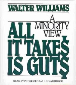 All It Takes Is Guts: A Minority View (CD-Audio)
