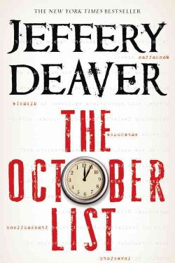 The October List: (Novel is in reverse begins with chapter 24) (Hardcover)