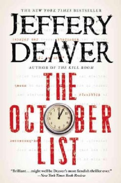 The October List (Paperback)