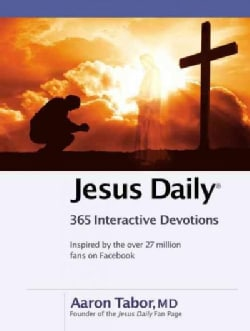 Jesus Daily: 365 Interactive Devotions (Hardcover)