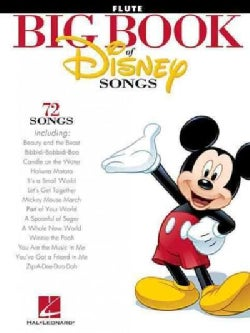The Big Book of Disney Songs: Flute (Paperback)
