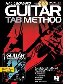 Hal Leonard Guitar Tab Method: Books 1 & 2 Combo Edition