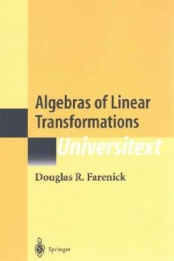 Algebras of Linear Transformations (Paperback)