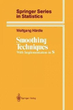 Smoothing Techniques: With Implementation in S (Paperback)