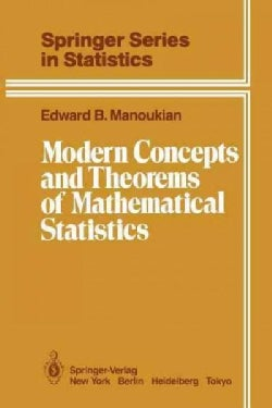 Modern Concepts and Theorems of Mathematical Statistics (Paperback)