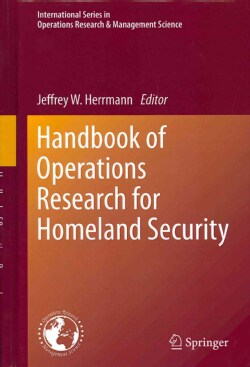 Handbook of Operations Research for Homeland Security (Hardcover)