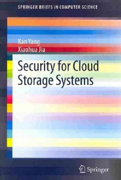 Security for Cloud Storage Systems (Paperback)