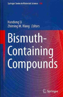 Bismuth-Containing Compounds (Hardcover)