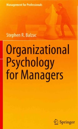 Organizational Psychology for Managers (Hardcover)