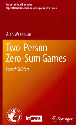 Two-Person Zero-Sum Games (Hardcover)