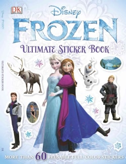 Frozen: Ultimate Sticker Book (Paperback)