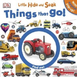 Little Hide and Seek: Things That Go! (Board book)