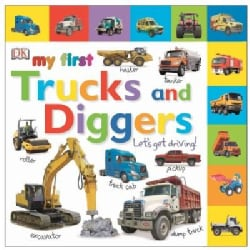 My First Trucks and Diggers (Board book)