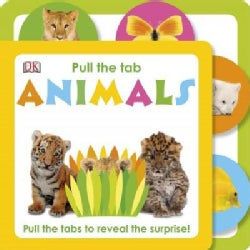 Pull the Tab Animals (Board book)