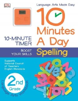 10 Minutes a Day Spelling, 2nd Grade (Paperback)