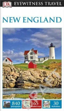 Dk Eyewitness New England (Paperback)
