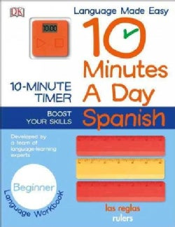 10 Minutes a Day Spanish: Beginner: Includes Timer (Paperback)
