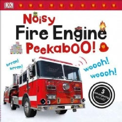 Noisy Fire Engine Peekaboo! (Board book)