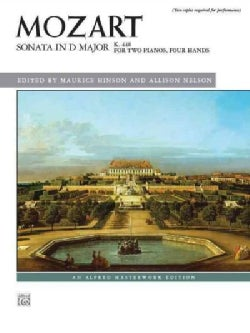 Sonata in D Major, K. 448: For Two Pianos, Four Hands (Paperback)