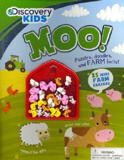 Moo!: Puzzles, Doodles, and Farm Facts!