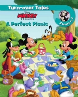 Disney Mickey Mouse Turn-over Tales: A Perfect Picnic / the Kitten Sitters (Hardcover)