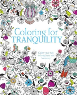 Coloring for Tranquility (Paperback)