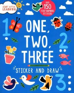One, Two, Three: Sticker and Draw (Paperback)