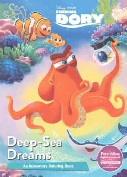 Deep-Sea Dreams: Adventure Coloring Book (Paperback)