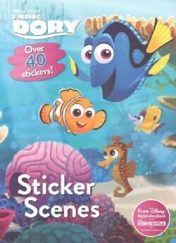 Disney Pixar Finding Dory Sticker Scenes (Paperback)