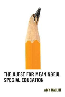 The Quest for Meaningful Special Education (Hardcover)