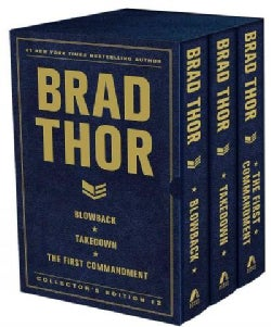 Brad Thor Collector's Edition # 2: Blowback / Takedown / The First Commandment (Hardcover)