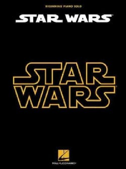 Star Wars: Beginning Piano Solo (Paperback)