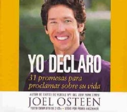 Yo declaro / I Declare: 31 promesas para proclamar sobre su vida / 31 Promises to Proclaim On His Life (CD-Audio)