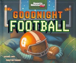 Goodnight Football (Hardcover)