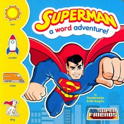 Superman: A Word Adventure! (Board book)