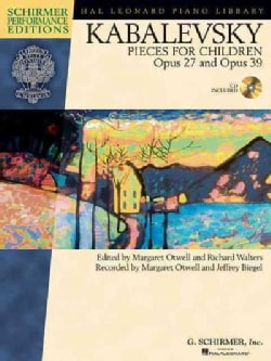 Kabalevsky Pieces for Children, Opus 27 and Opus 39