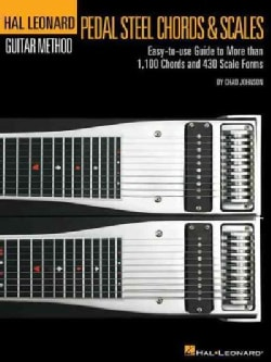Pedal Steel Guitar Chords & Scales: Easy-to-use Guide to More Than 1,100 Chords and 430 Scale Forms (Paperback)
