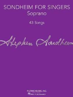 Sondheim for Singers: Soprano: 43 Songs (Paperback)