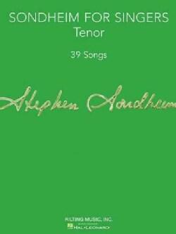 Sondheim for Singers: Tenor: 39 Songs (Paperback)