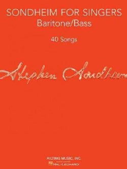 Sondheim for Singers: Baritone/Bass: 40 Songs (Paperback)