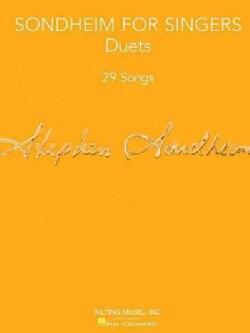 Sondheim for Singers: Duets: 29 Songs (Paperback)