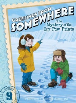 The Mystery of the Icy Paw Prints (Paperback)