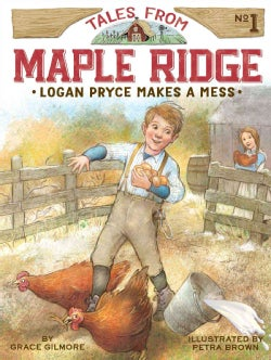 Logan Pryce Makes a Mess (Hardcover)